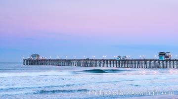 Oceanside Pier At Dawn Photo Image Id 28878 Location California Usa