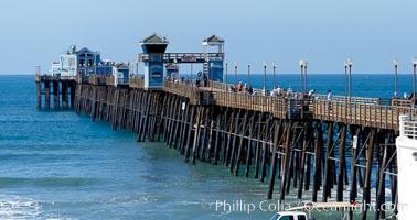 Oceanside Pier panorama
