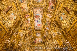 Opera de Paris, Paris Opera, or simply Opera, is the primary opera company of Paris. It was founded in 1669 by Louis XIV as the Academie d'Opera. Opera de Paris, Paris, France, natural history stock photograph, photo id 28260