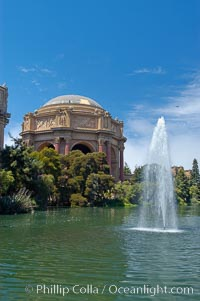 Palace of the Fine Arts, San Francisco, California
