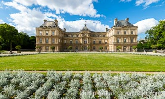 Palais du Luxembourg, Paris. Jardin du Luxembourg. The Jardin du Luxembourg, or the Luxembourg Gardens, is the second largest public park in Paris located in the 6th arrondissement of Paris, France. The park is the garden of the French Senate, which is itself housed in the Luxembourg Palace