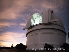 Image 29336, Palomar Observatory at sunset. Palomar Observatory, Palomar Mountain, California, USA