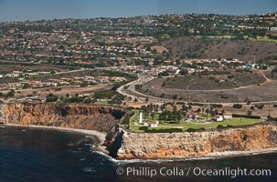 Palos Verdes Peninsula, overlooking the Pacific Ocean near Los Angeles
