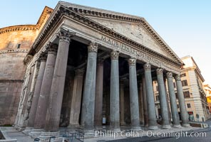 Pantheon at Dawn, Rome