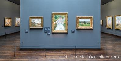 Camille Pissarro (l, r), Mary Cassatt (c), Musee d'Orsay, Paris, Musee dOrsay
