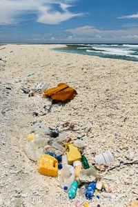 Plastic Trash and Debris, Clipperton Island