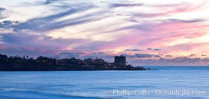 Point La Jolla, sunset