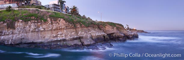 Point La Jolla at dawn