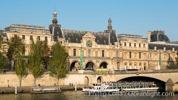 Pont du Carrousel. Pont du Carrousel, Paris, France, natural history stock photograph, photo id 28235