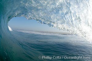 Breaking wave, early morning surf. Ponto, Carlsbad, California, USA, natural history stock photograph, photo id 19409