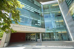 Powell-Focht Bioengineering Hall building, the Whitaker Institute of Biomedical Engineering, Jacobs School of Engineering, University of California, San Diego (UCSD). University of California, San Diego, La Jolla, California, USA, natural history stock photograph, photo id 20855
