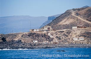 Fishing village, south end of Guadalupe Island, Guadalupe Island (Isla Guadalupe)