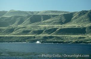 Pyramid Head section of San Clemente Island. California, USA, natural history stock photograph, photo id 05515