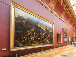 The Raft of the Medusa .1818�19 , Th�odore G�ricault, Mus�e du Louvre, Paris, Musee du Louvre