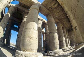 Ramesseum. Luxor, Egypt, natural history stock photograph, photo id 02591