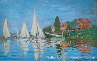 Regatta at Argenteuil, 1872, Claude Monet, Musee d'Orsay, Paris, Musee dOrsay