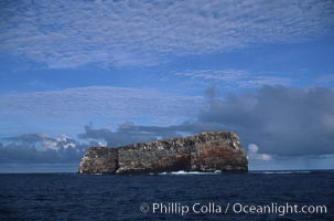 Roca Redonda, a small remote island in the Galapagos archipelago