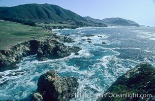 Rocky Point. Big Sur, California, USA, natural history stock photograph, photo id 05520