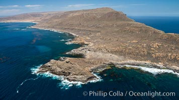 San Clemente Island Pyramid Head, the distinctive pyramid shaped southern end of the island