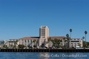San Diego City and County Administration building, downtown San Diego