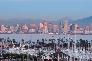 San Diego downtown skyline, viewed from Point Loma