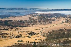 San Diego mountains, looking south towards San Pasqual