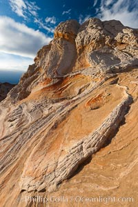 Sarah's Swirl, a particularly beautiful formation at White Pocket in the Vermillion Cliffs National Monument