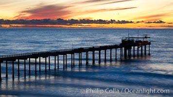 Scripps Institute of Oceanography Pier, La Jolla, California