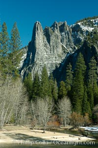 Sentinel Rock, Yosemite Valley, Yosemite National Park, California