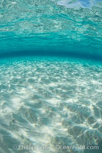 Shallow white sand, Grand Caymand Island