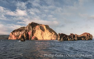 Skip's Rock, Church Rock and Isla Adentro, Guadalupe Island, Mexico, Guadalupe Island (Isla Guadalupe)
