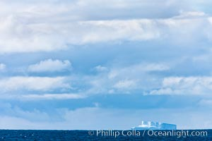 Clouds, weather and light mix in neverending forms over the open ocean of Scotia Sea, in the Southern Ocean., natural history stock photograph, photo id 24756