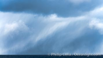 Clouds, weather and light mix in neverending forms over the open ocean of Scotia Sea, in the Southern Ocean. Scotia Sea, Southern Ocean, natural history stock photograph, photo id 24758