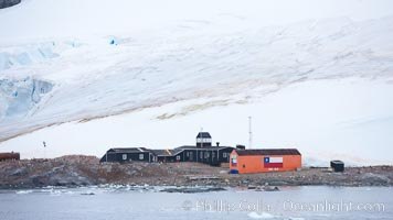 Station Gonzalez Videla Base, a Chilean research base on Antarctica's Paradise Bay, was actively used for research in the 1950s and 1980s, and is now used to store supplies for emergency use