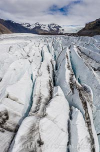 Svinafellsjokull Glacier and Lagoon, Iceland