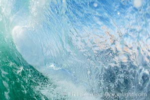 Afternoon tiny wave. Tabletop, Cardiff by the Sea, California, USA, natural history stock photograph, photo id 18975