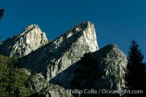Three Brothers, Yosemite Valley, Yosemite National Park, California