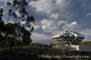 UCSD Library (Geisel Library, UCSD Central Library), University of California, San Diego, La Jolla