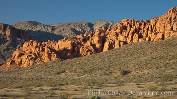 Valley of Fire State Park. Nevada, USA, natural history stock photograph, photo id 25221