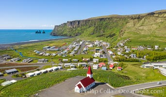 Vik, Iceland., natural history stock photograph, photo id 35727