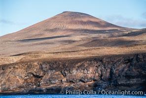 Volcanic terrain and shoreline, Guadalupe Island (Isla Guadalupe)
