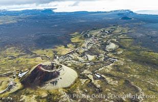 Volcanic Rift Terrain, Southern Iceland
