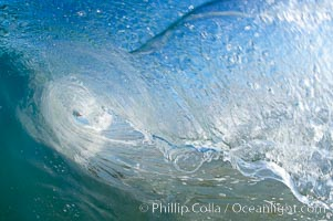 Cardiff-by-the-Sea, morning surf, breaking wave. Cardiff by the Sea, California, USA, natural history stock photograph, photo id 19506