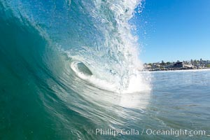 Cardiff-by-the-Sea, morning surf, breaking wave, Cardiff by the Sea, California