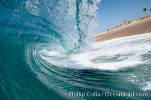 Tube, the Wedge, The Wedge, Newport Beach, California