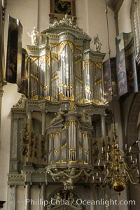 Westerkerk Organ Pipes, Amsterdam