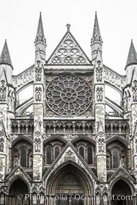 Westminster Abbey. Westminster Abbey, London, United Kingdom, natural history stock photograph, photo id 28273