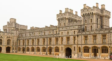 Windsor Castle. London, United Kingdom, natural history stock photograph, photo id 28289
