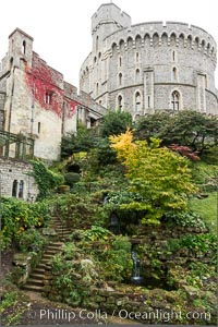 Windsor Castle. Windsor Castle, London, United Kingdom, natural history stock photograph, photo id 28290