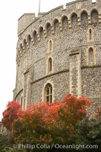 Windsor Castle. Windsor Castle, London, United Kingdom, natural history stock photograph, photo id 28291